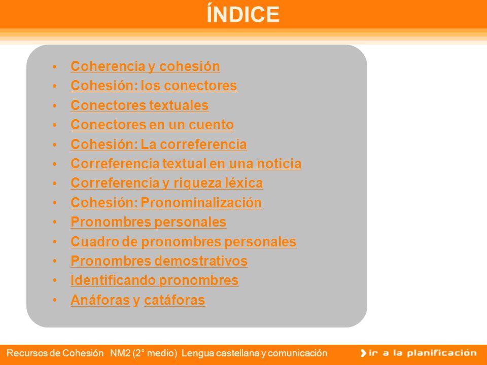 Recursos de cohesión Lengua castellana y comunicación Comunicación escrita expositiva ddddddddddddddddddddd