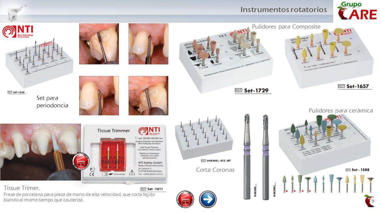 Corta Coronas 9 Pulidores para cerámica Pulidores para Composite Set para periodoncia Tissue Trimer. Fresa de porcelana para pieza de mano de alta vel