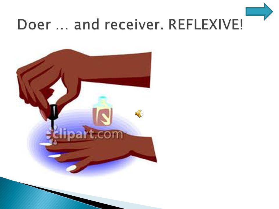 REFLEXIVE!! Receiver Doer