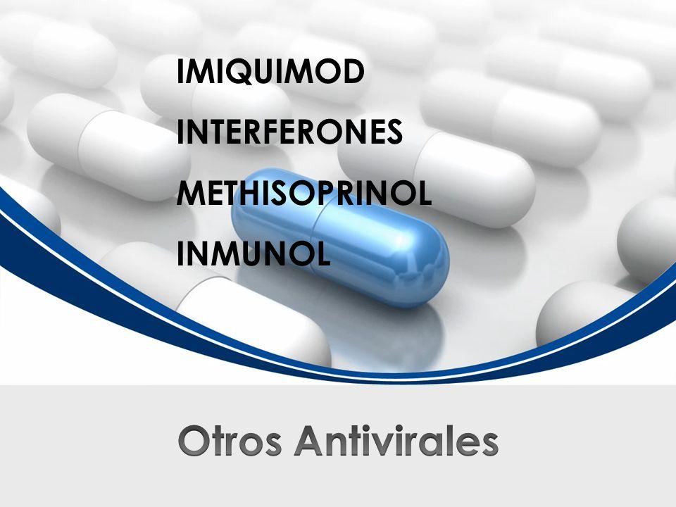 IMIQUIMOD INTERFERONES METHISOPRINOL INMUNOL