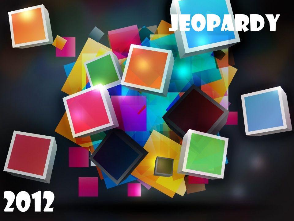 Jeopardy 2011 Jeopardy 2012
