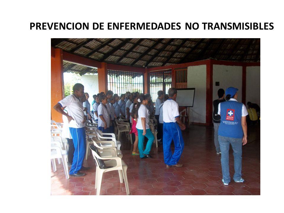 PREVENCION DE ENFERMEDADES NO TRANSMISIBLES