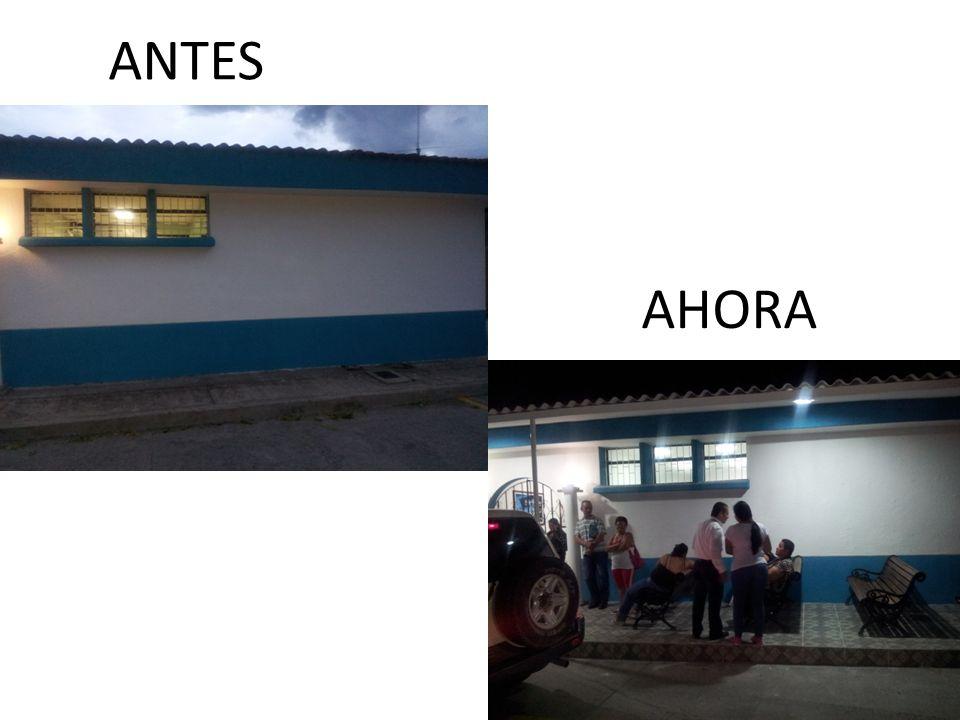 AHORA ANTES