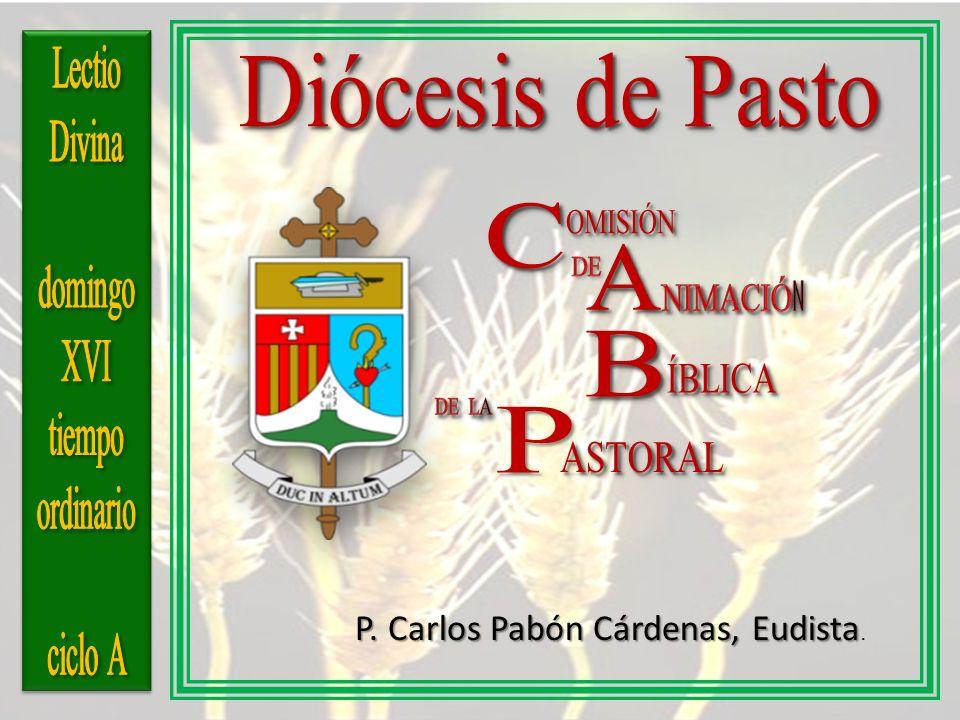 P. Carlos Pabón Cárdenas, Eudista P. Carlos Pabón Cárdenas, Eudista.