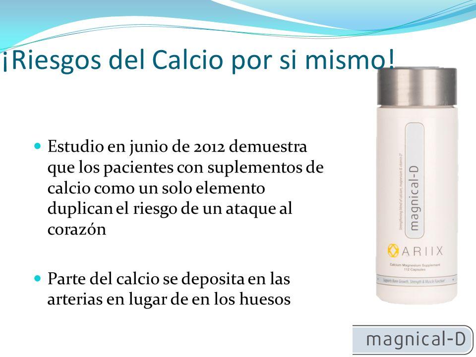 El Magnesio es la clave El Magnesio es importante para el músculo Importante en el ritmo cardíaco Permite que las arterias se relajen Importante en el desarrollo de los pulmones, el sistema inmune y, en particular, en el desarrollo de huesos sanos