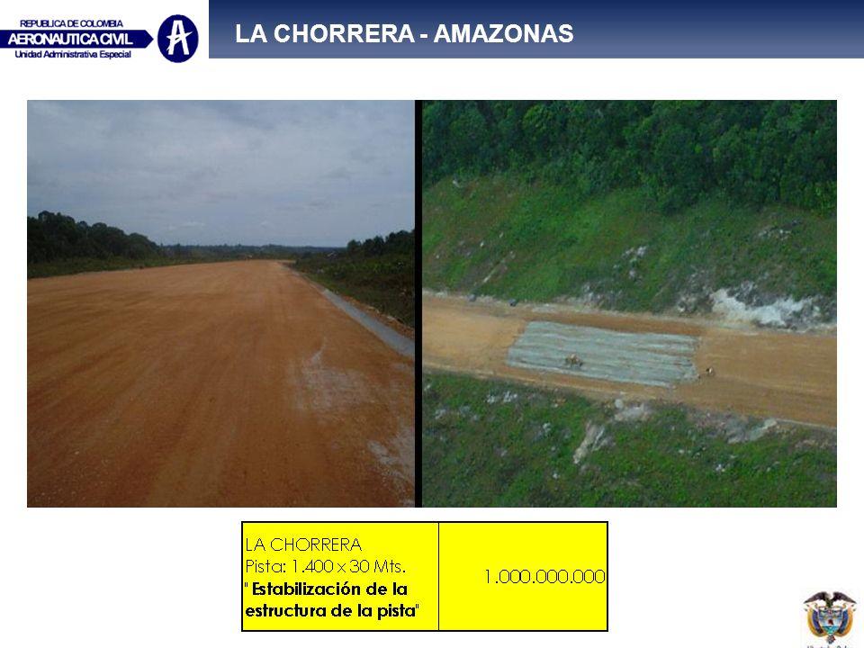 LA CHORRERA - AMAZONAS