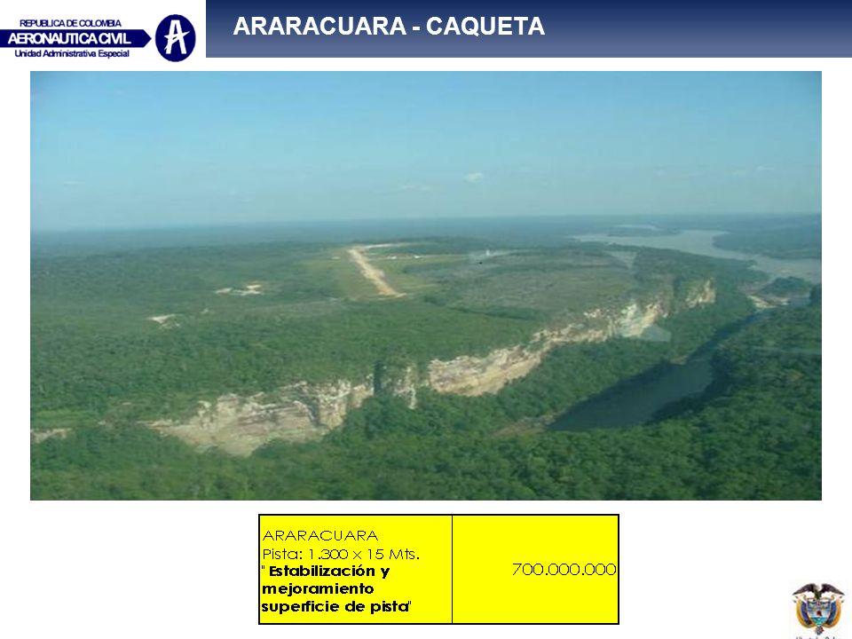 ARARACUARA - CAQUETA