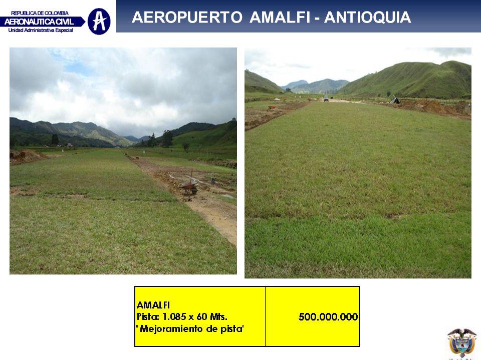 AEROPUERTO AMALFI - ANTIOQUIA