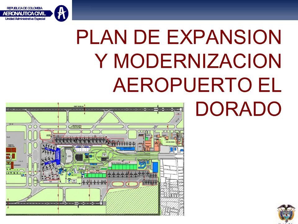 PLAN DE EXPANSION Y MODERNIZACION AEROPUERTO EL DORADO