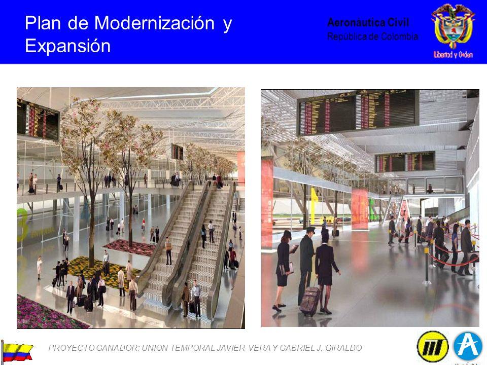 Plan de Modernización y Expansión PROYECTO GANADOR: UNION TEMPORAL JAVIER VERA Y GABRIEL J. GIRALDO