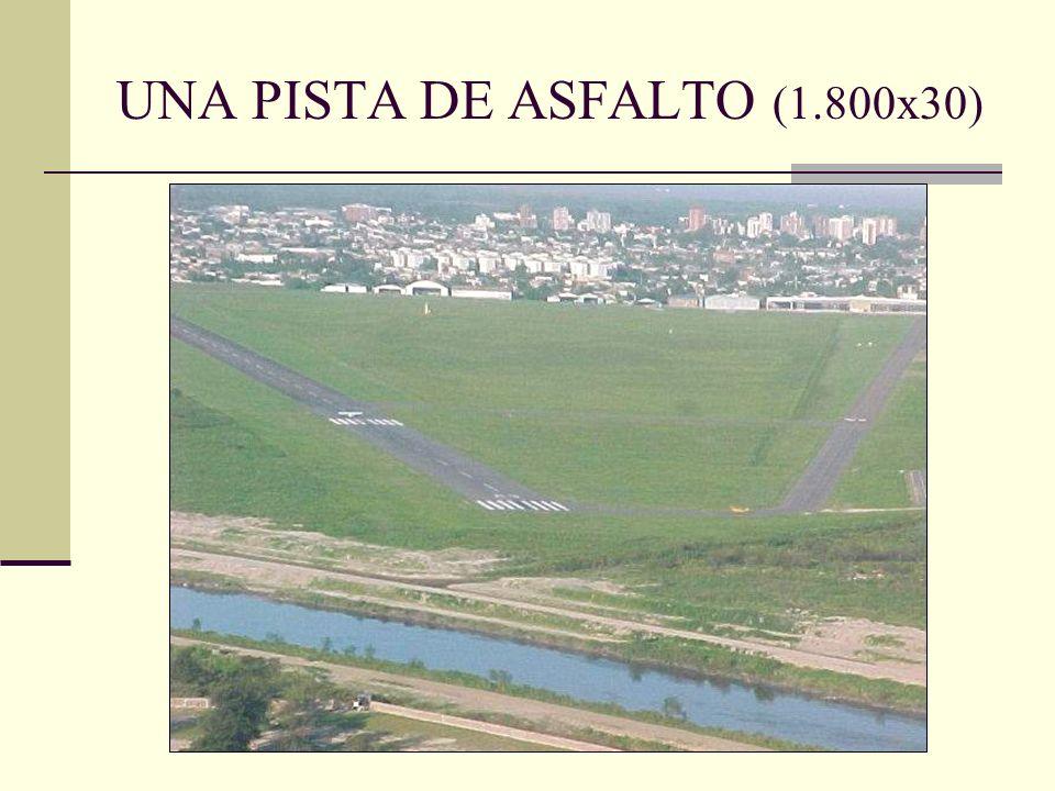 UNA PISTA DE ASFALTO (1.800x30)