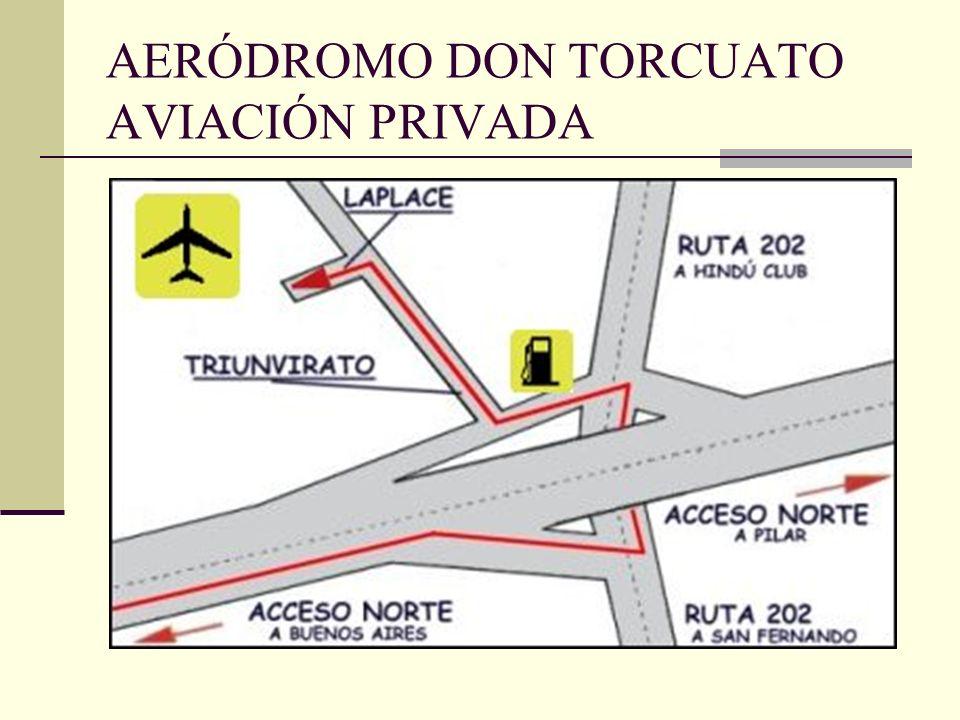 AERÓDROMO DON TORCUATO AVIACIÓN PRIVADA