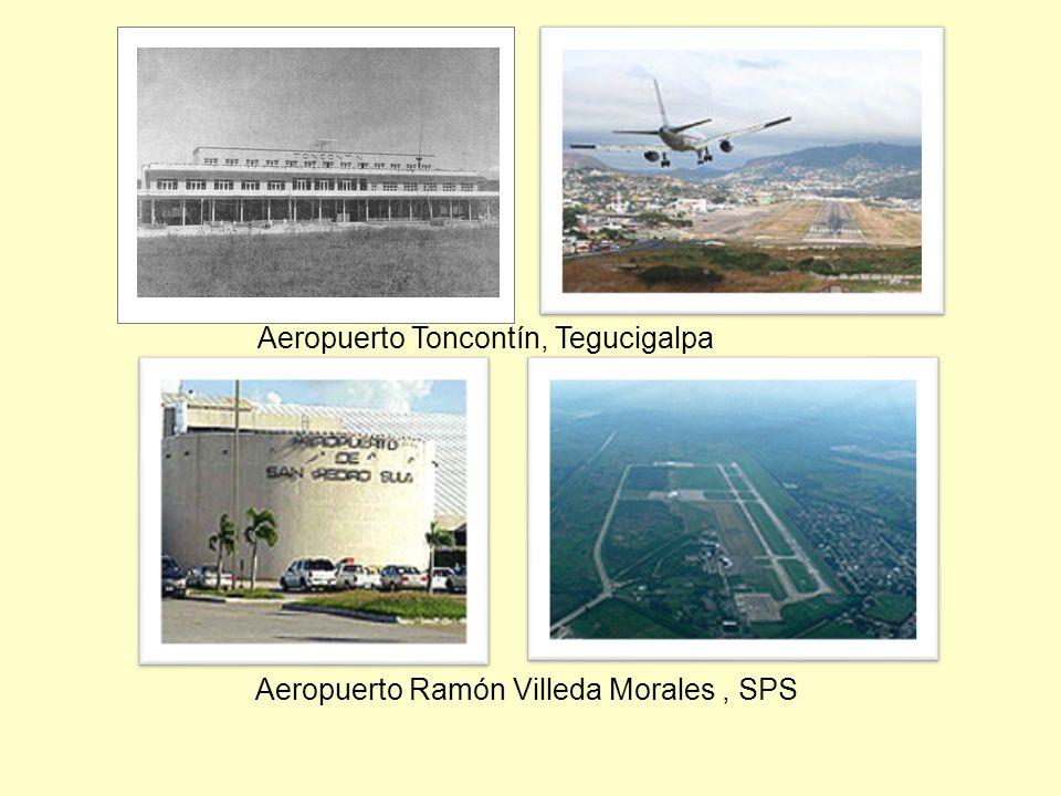 Aeropuerto Toncontín, Tegucigalpa Aeropuerto Ramón Villeda Morales, SPS