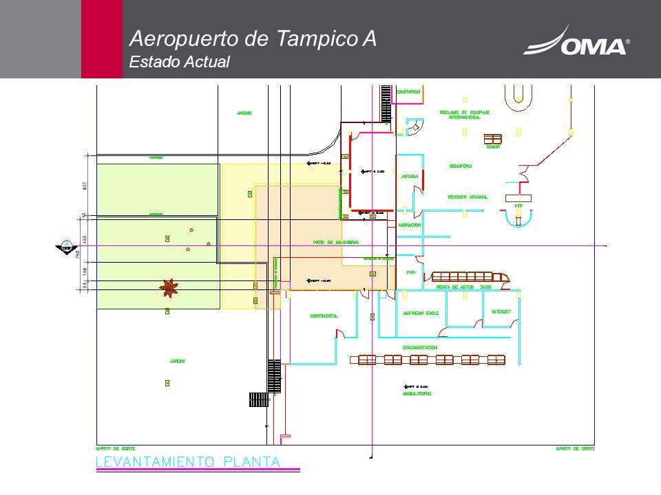 Aeropuerto de Tampico A Estado Actual