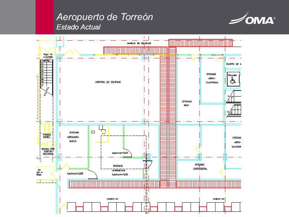 Aeropuerto de Torreón Estado Actual