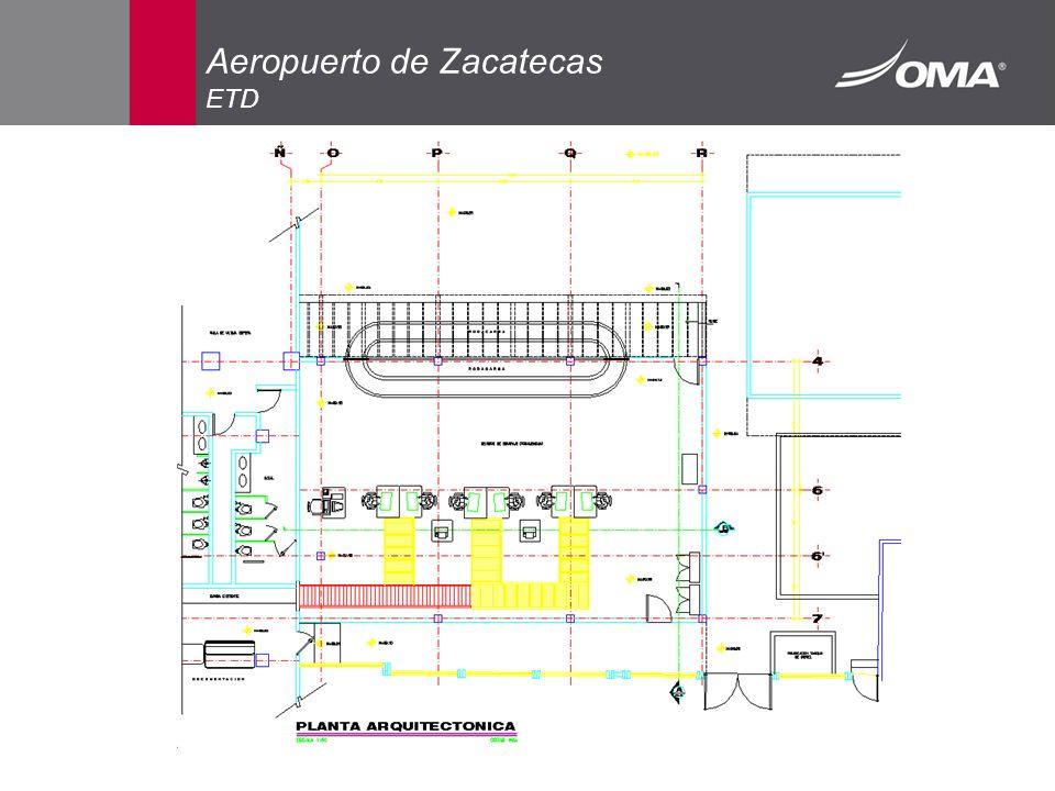 Aeropuerto de Zacatecas ETD