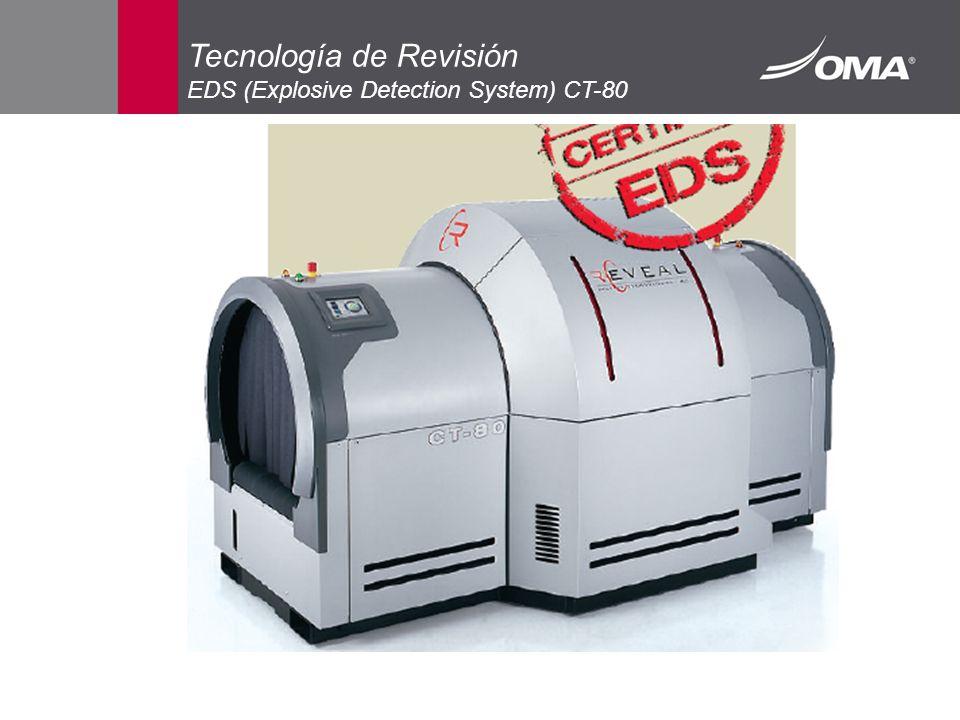 Tecnología de Revisión EDS (Explosive Detection System) CT-80