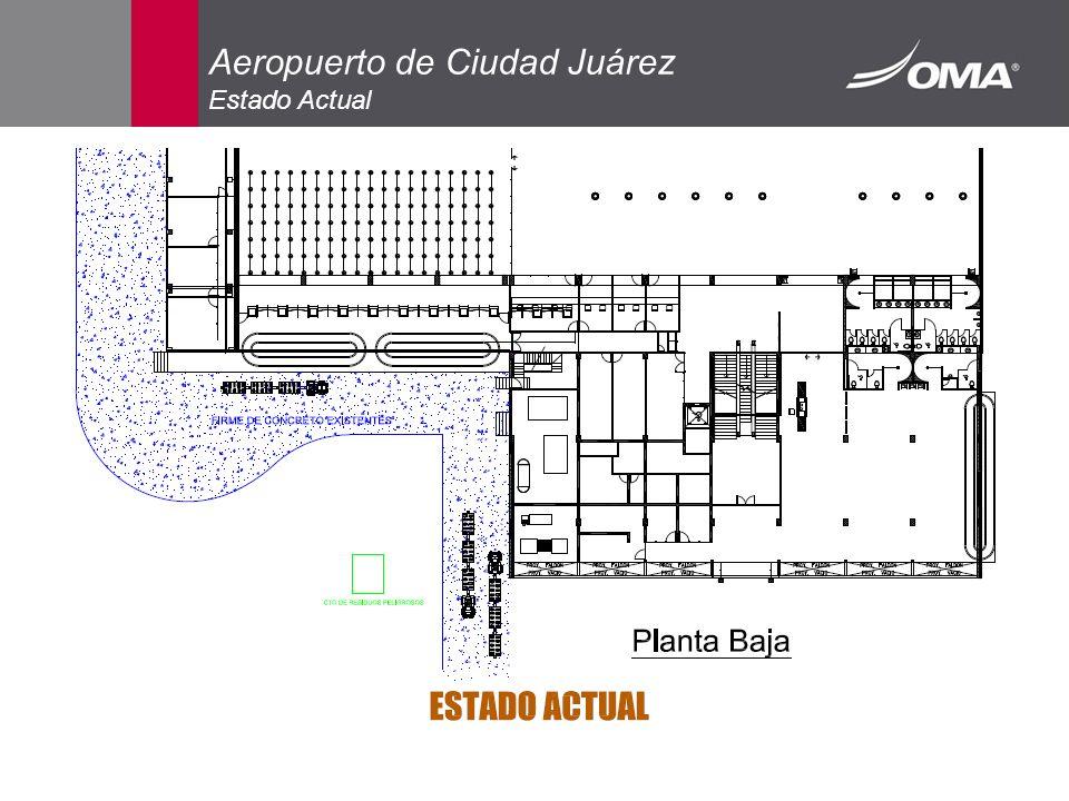 Aeropuerto de Ciudad Juárez Estado Actual