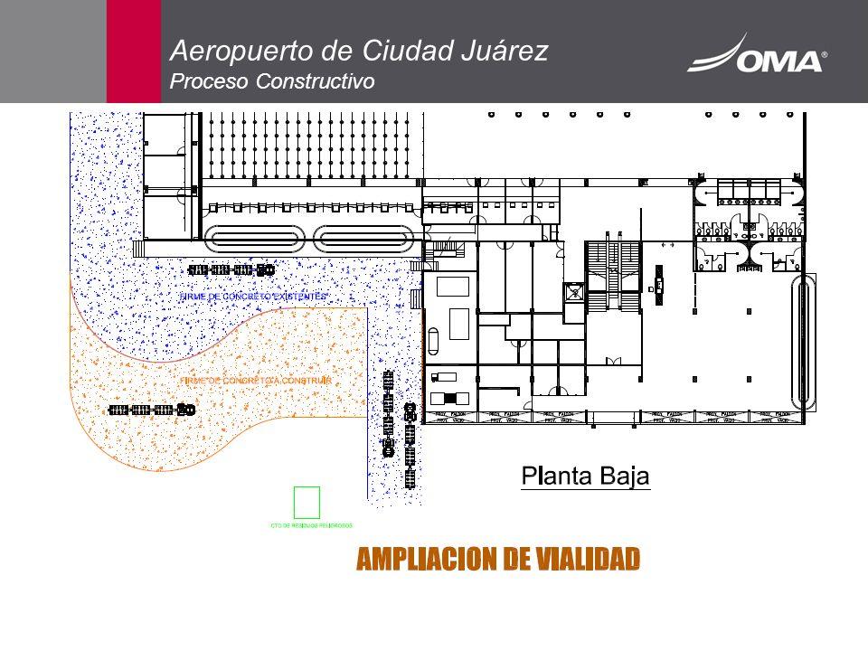 Aeropuerto de Ciudad Juárez Proceso Constructivo