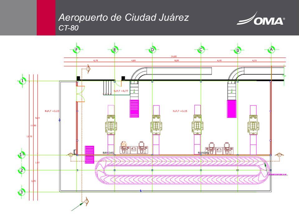 Aeropuerto de Ciudad Juárez CT-80