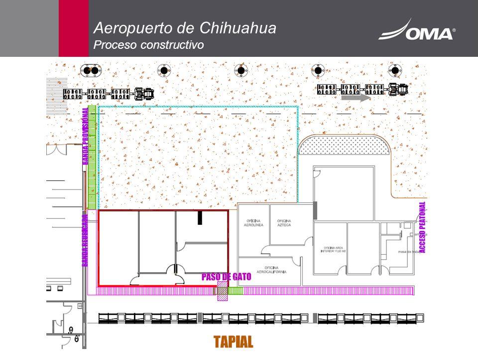 Aeropuerto de Chihuahua Proceso constructivo