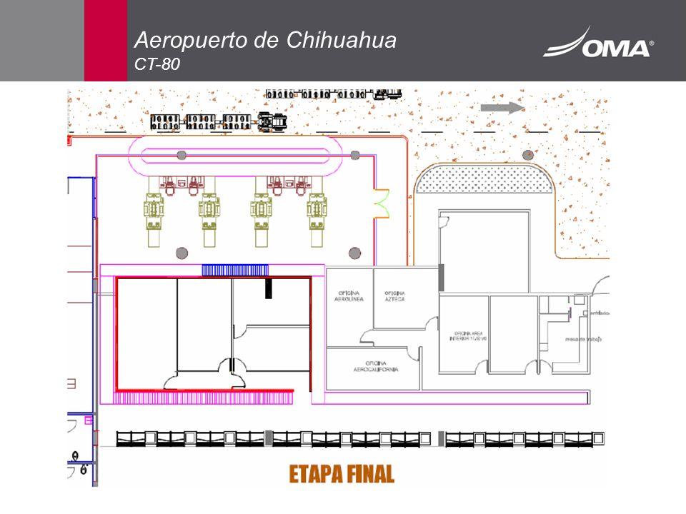Aeropuerto de Chihuahua CT-80