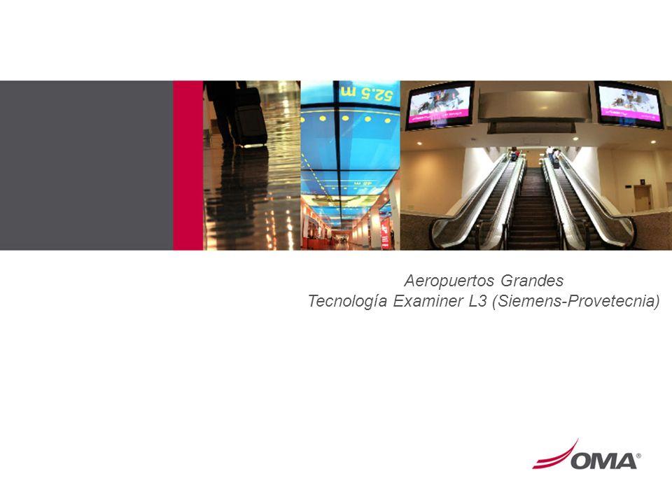 Aeropuertos Grandes Tecnología Examiner L3 (Siemens-Provetecnia)