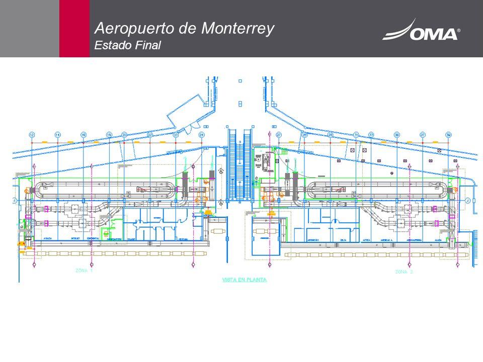 Aeropuerto de Monterrey Estado Final