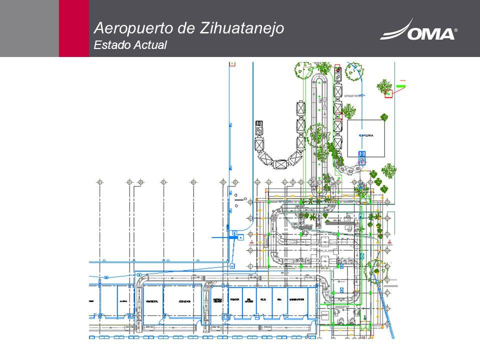 Aeropuerto de Zihuatanejo Estado Actual