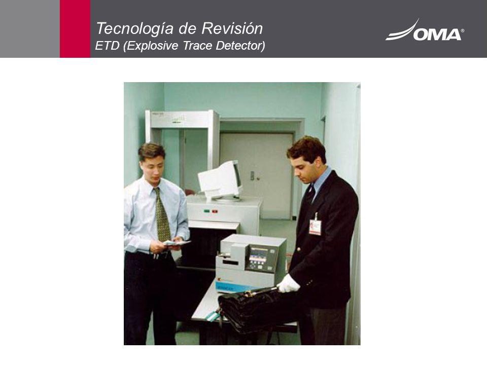 Tecnología de Revisión ETD (Explosive Trace Detector)