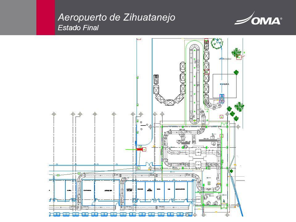 Aeropuerto de Zihuatanejo Estado Final