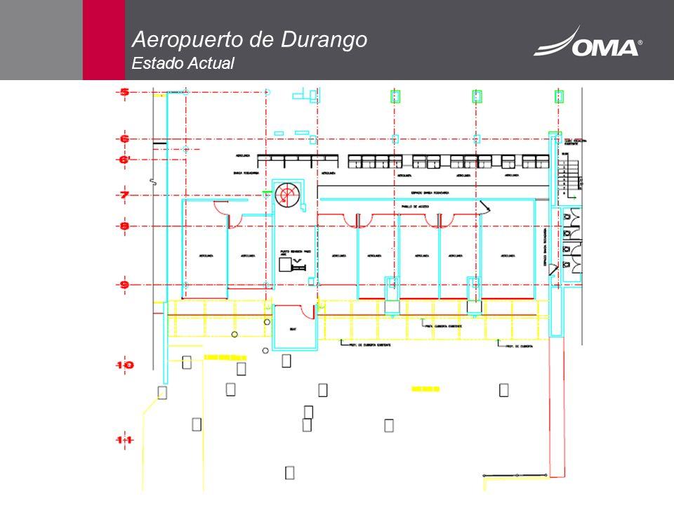 Aeropuerto de Chihuahua Estado Actual