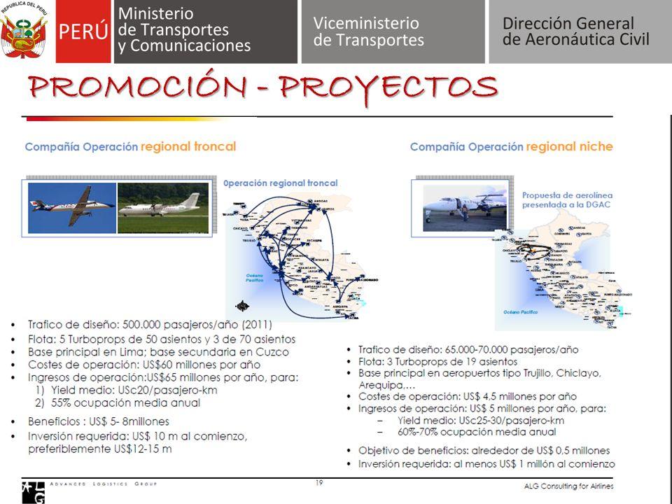 LC Busre se consolidará como una línea aérea regional. PROMOCIÓN - PROYECTOS