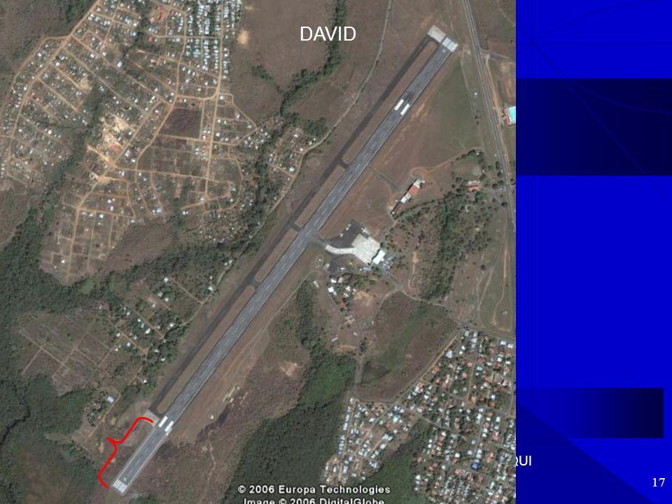 Aeropuerto Int. de DAVID - CAMARA DE TURISMO DE CHIRIQUI 17 DAVID