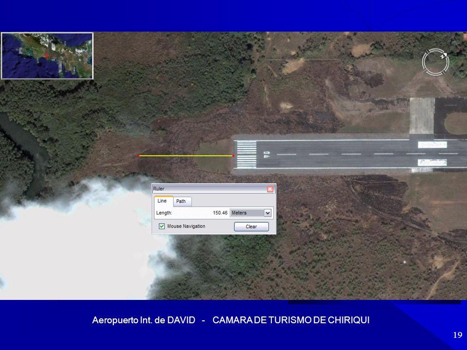 Aeropuerto Int. de DAVID - CAMARA DE TURISMO DE CHIRIQUI 19