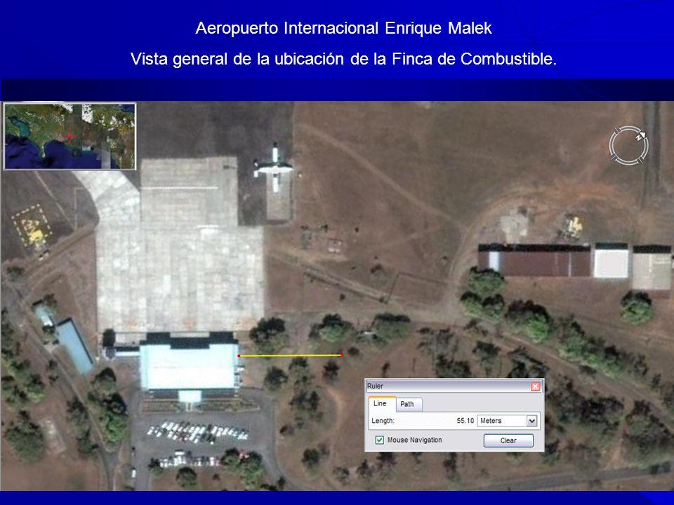 Aeropuerto Int. de DAVID - CAMARA DE TURISMO DE CHIRIQUI 30 Aeropuerto Internacional Enrique Malek Vista general de la ubicación de la Finca de Combus