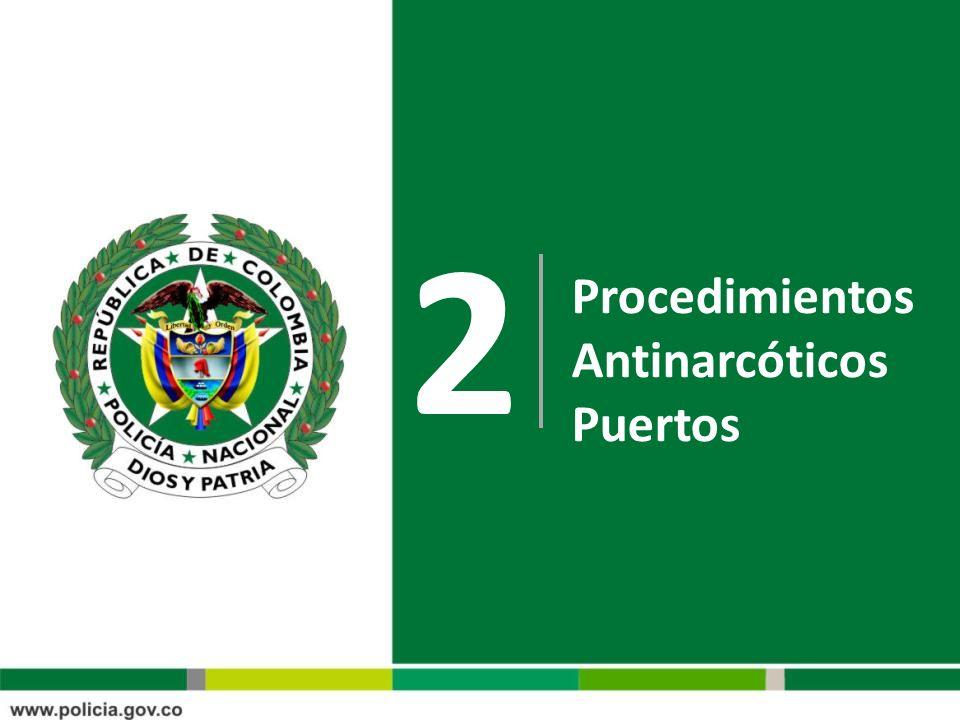 2 Procedimientos Antinarcóticos Puertos