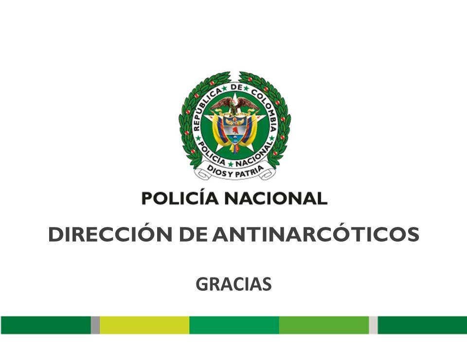 DIRECCIÓN DE ANTINARCÓTICOS GRACIAS
