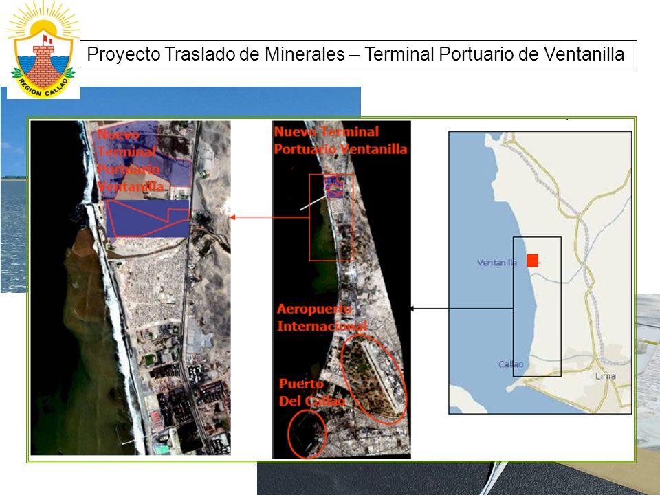 Proyecto Traslado de Minerales – Terminal Portuario de Ventanilla