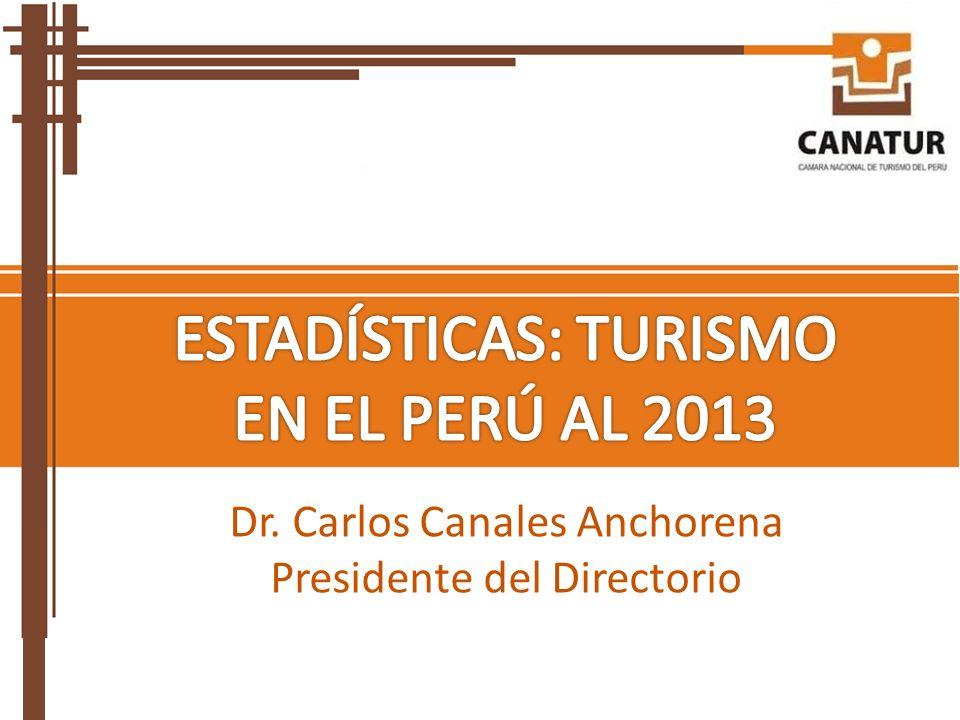 Dr. Carlos Canales Anchorena Presidente del Directorio
