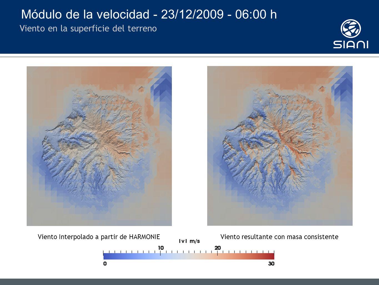 Módulo del viento horizontal Estación ITC - GC36 - ARUCAS DESALADORA (14 m)