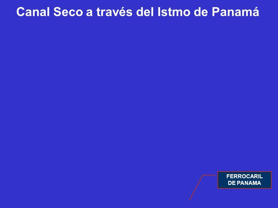 Canal Seco a través del Istmo de Panamá FERROCARIL DE PANAMA