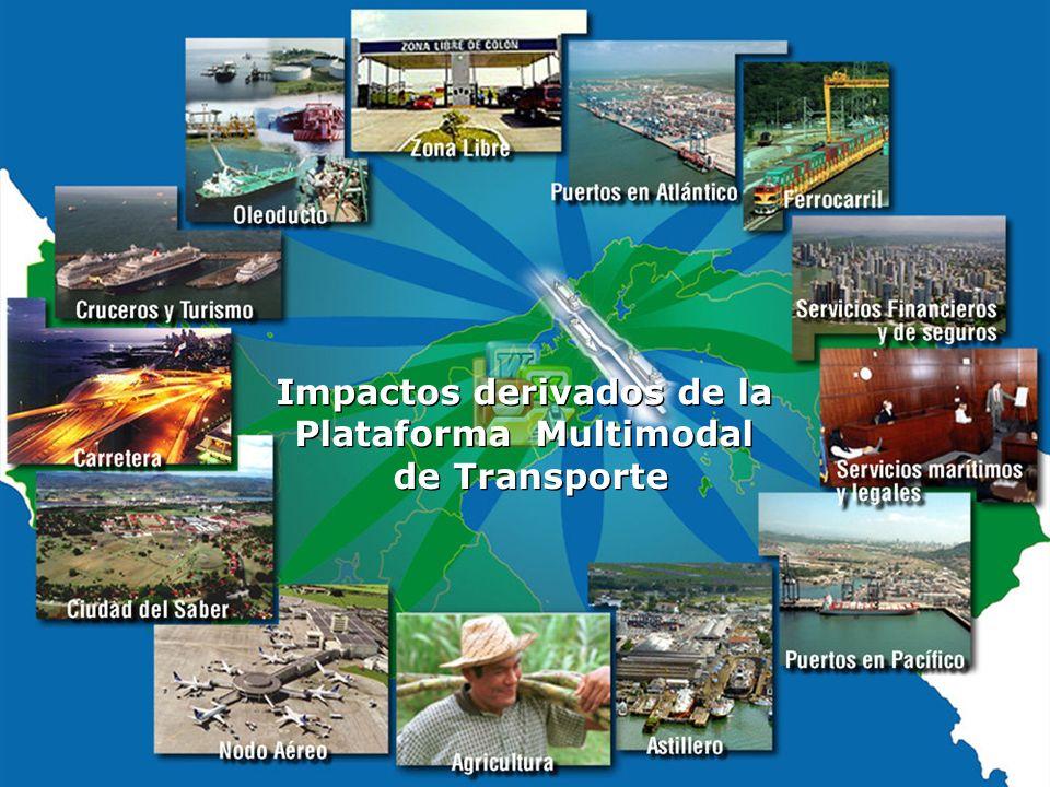 Impactos derivados de la Plataforma Multimodal de Transporte Impactos derivados de la Plataforma Multimodal de Transporte