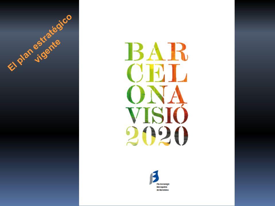 Barcelona Visió 2020 El plan estratégico vigente