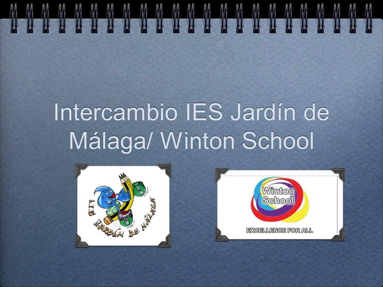 Intercambio IES Jardín de Málaga/ Winton School