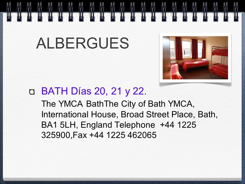 SALISBURY DÍAS 23 AL 29 ALBERGUE YHA SALISBURY.YHA.