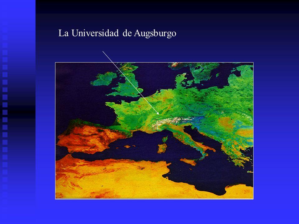 La ciudad de Augsburgo Fundada hace más de dos mil años, por el emperador romano Augusto En la época del Renacimiento, importante centro político y comercial En la actualidad: ~260.000 habitantes, centro comercial, administrativo y cultural