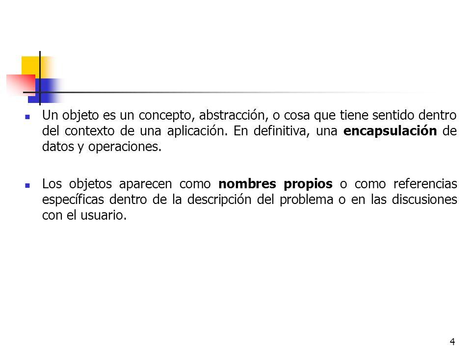 55 4.8 Restricciones Las restricciones son relaciones funcionales entre entidades del modelo de objetos.