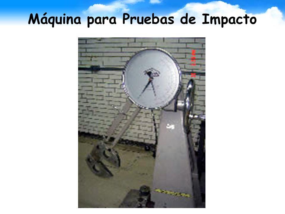 Máquina para Pruebas de Impacto