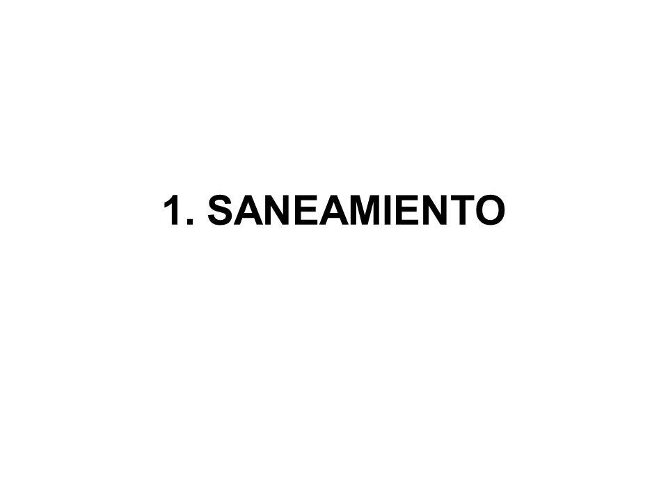 1. SANEAMIENTO